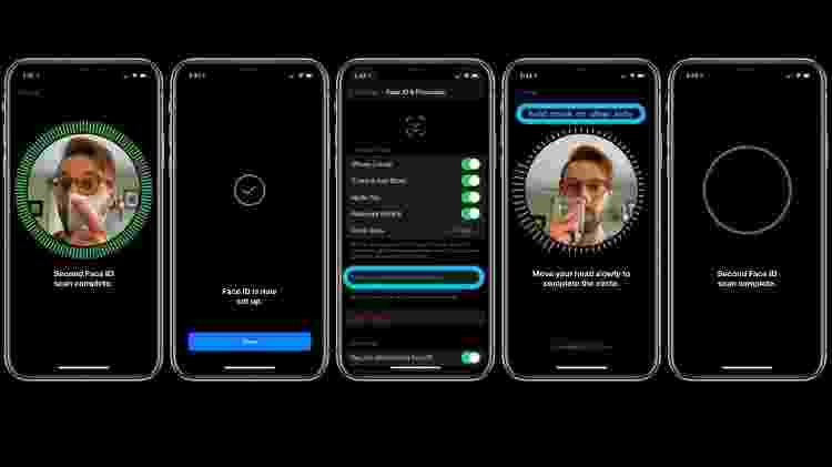 faceID - máscara identificar iphone tablet - 9to5Mac - 9to5Mac