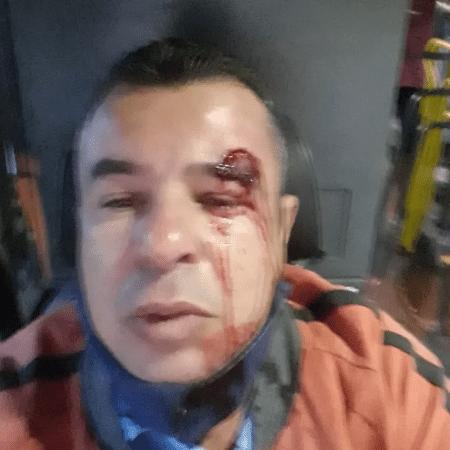 Motorista de ônibus de Ibirité, na Região Metropolitana de BH, é agredido por pedir para que passageiro usasse máscara - Reprodução/TV Globo Minas