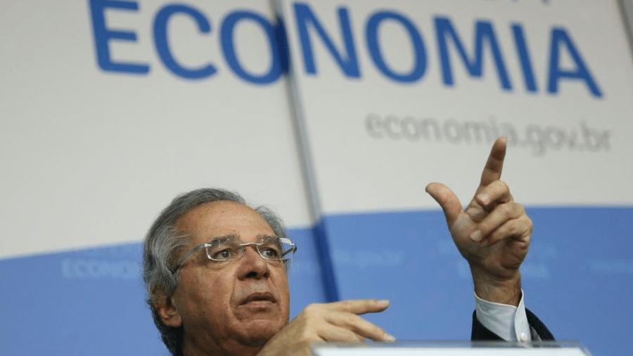 O ministro da Economia, Paulo Guedes, não descartou o retorno do auxílio - José Cruz/Ag. Brasil