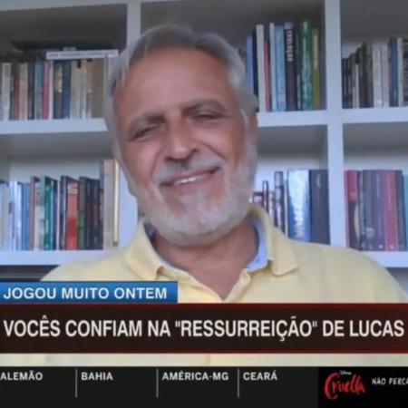 Fábio Sormani diz que não acredita em ressurreição de Lucas Lima no Palmeiras - Reprodução/ESPN