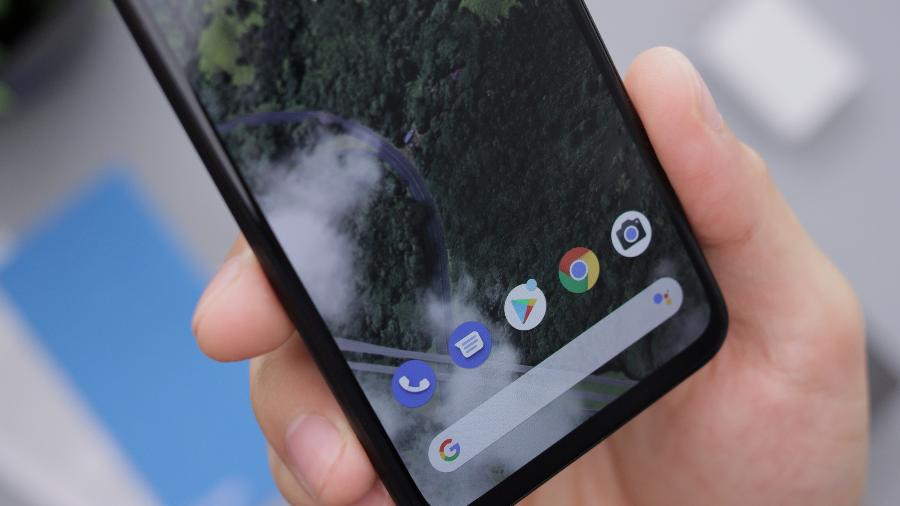 O ícone azul é do app Telefone, desenvolvido pelo Google - Unsplash