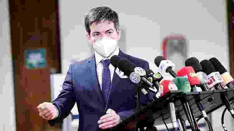 O senador Randolfe Rodrigues (Rede-AP) disse que a CPI suspeita que a empresa que seria usada para receber o pagamento antecipado pela Covaxin seria 'de fachada' - Pedro França/Agência Senado - Pedro França/Agência Senado