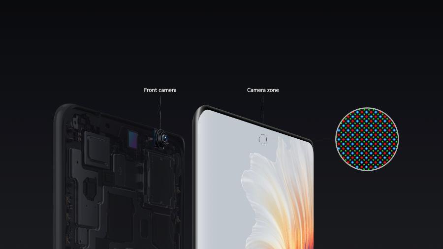 Câmera sob a tela do Xiaomi Mi Mix 4 - Divulgação/Xiaomi