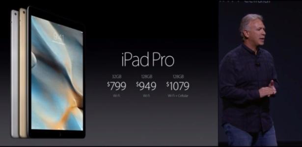 iPad Pro custará US$ 799