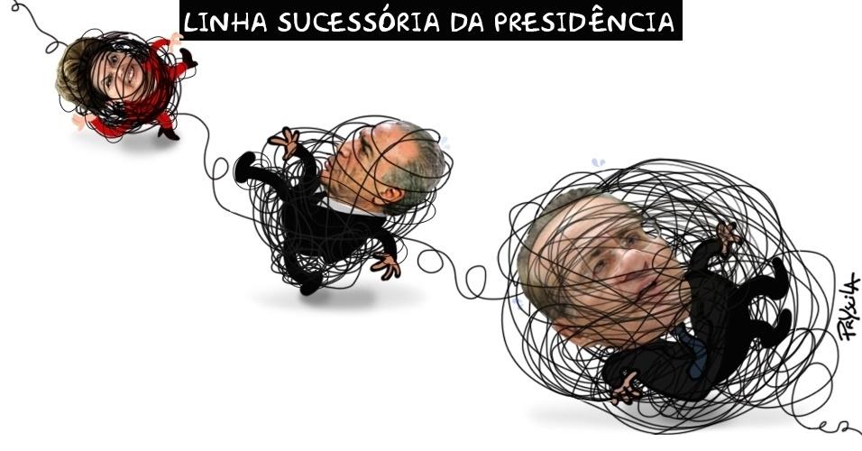 8.dez.2016 - Os líderes do Brasil estão cada vez mais enrolados