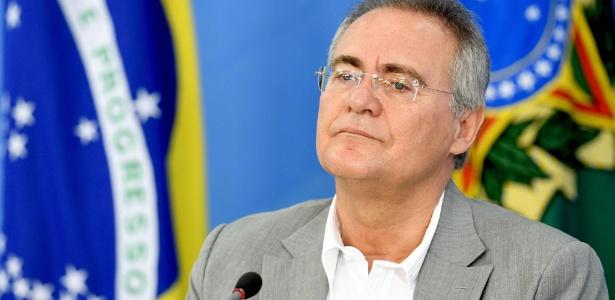 Renan foi mantido na presidência do Senado apesar de ser réu por desvio de dinheiro público