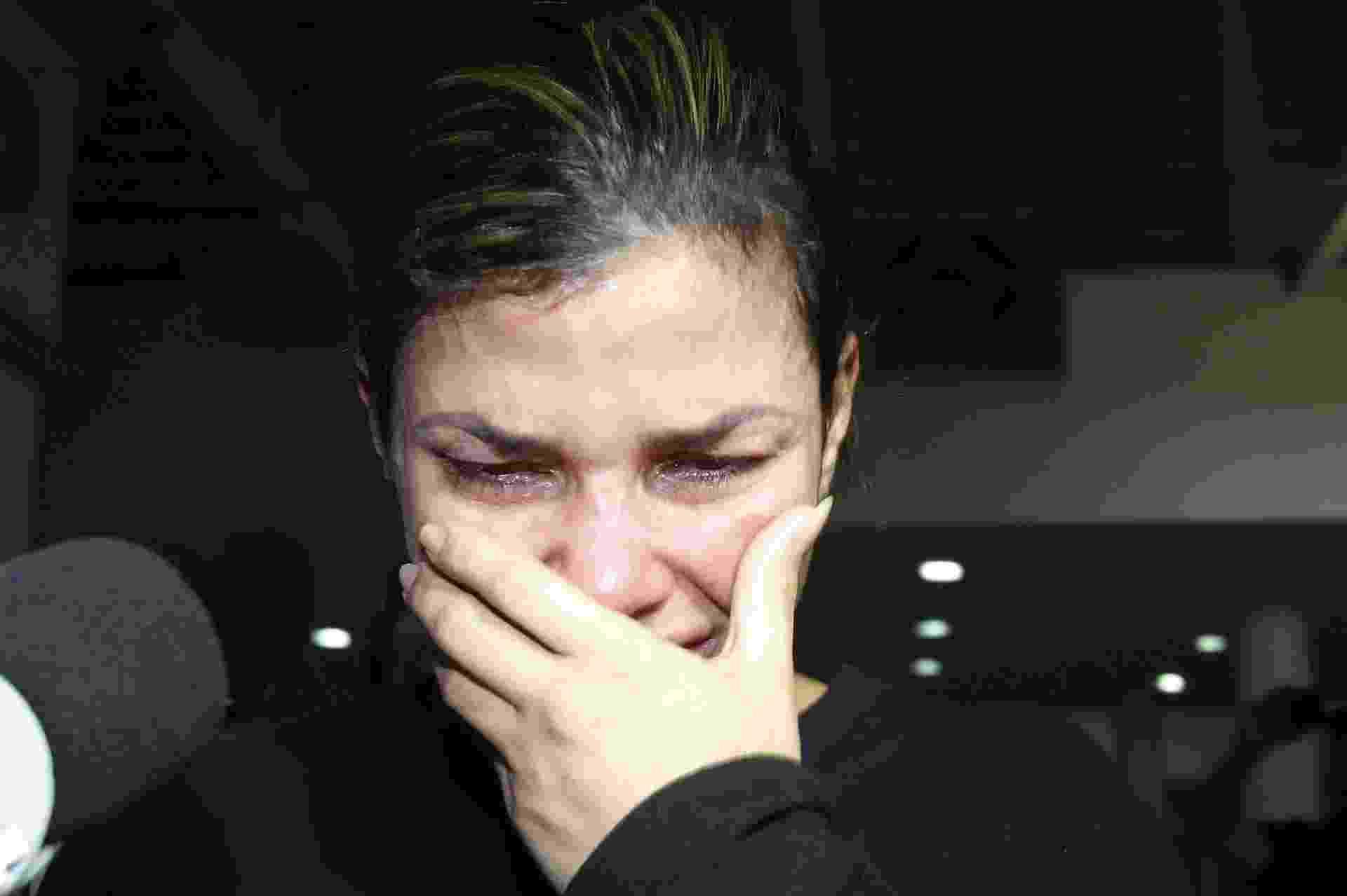 10.out.2017 - Danúbia Rangel, mulher do traficante Antônio Bonfim Lopes, o Nem da Rocinha, foi presa nesta terça-feira (10) na Ilha do Governador, Zona Norte do Rio. A prisão foi feita por agentes da 39ª DP (Pavuna) e 52ª DP (Nova Iguaçu). Ela foi levada no fim de tarde para a Cidade da Polícia, também na Zona Norte do Rio - ALEXANDRE BRUM/AGÊNCIA O DIA/AGÊNCIA O DIA/ESTADÃO CONTEÚDO
