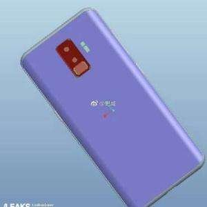 Possível renderização do próximo Galaxy S9