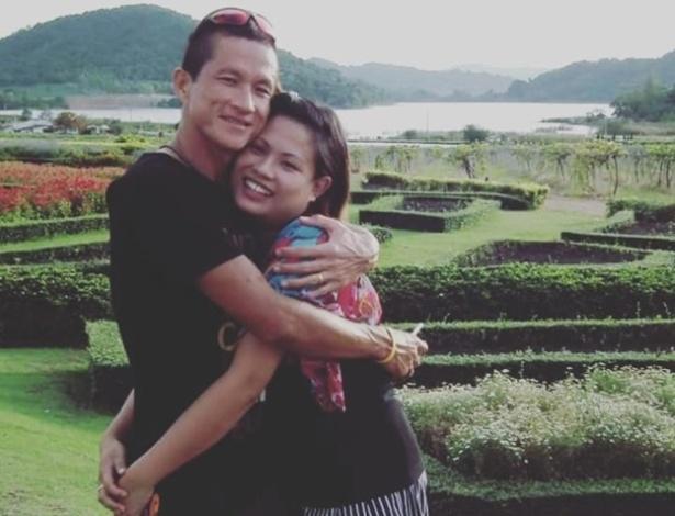 """""""Te amo como se você fosse meu próprio coração"""", escreveu Valeepoan Kunan"""