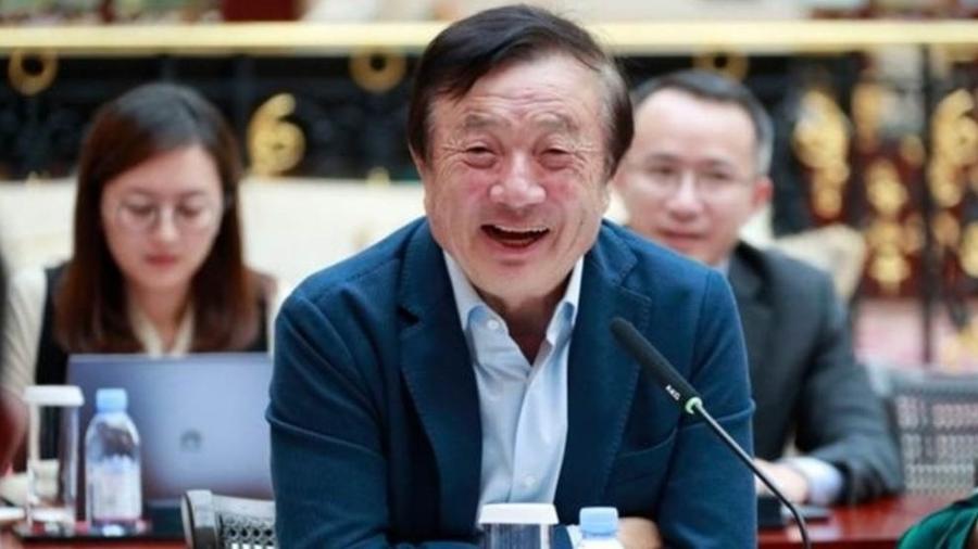 Ren Zhengfei, fundador da Huawei - AFP