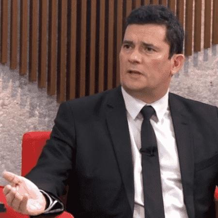 O ministro da Justiça, Sergio Moro - Reprodução/GloboNews