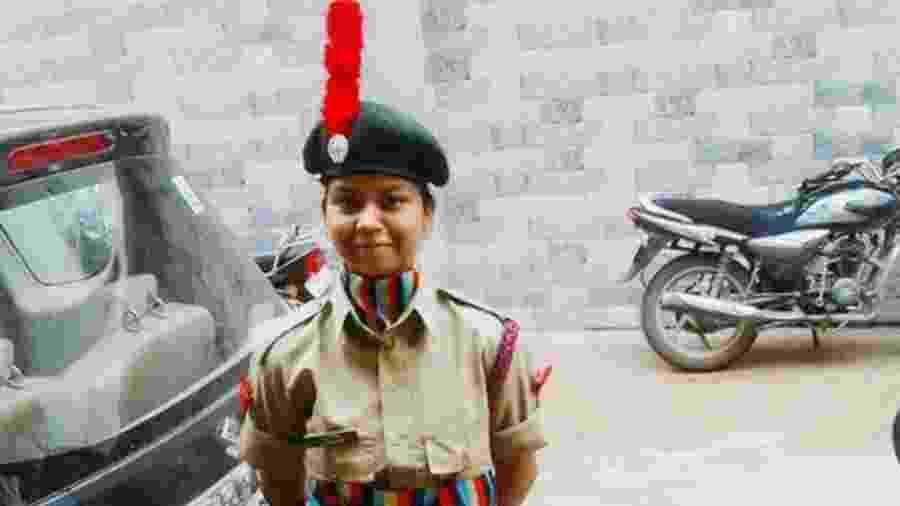 Anamika sonhava em entrar no Exército indiano - BBC