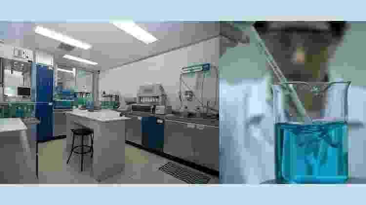 Laboratório onde o Vonau Flash foi desenvolvido na USP - Reprodução