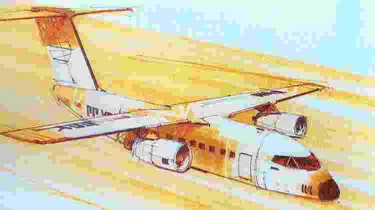 Projeto CX tinha diversas variantes, com diferenças nos desenhos e nas finalidades de cada uma - Revista Flap