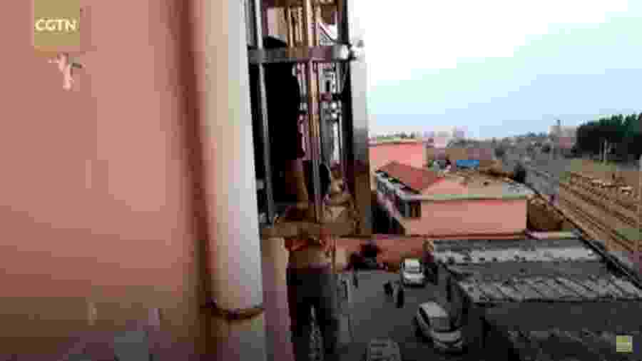 Caso acontecem na cidade de Linyi (China) - CGTN/Reprodução