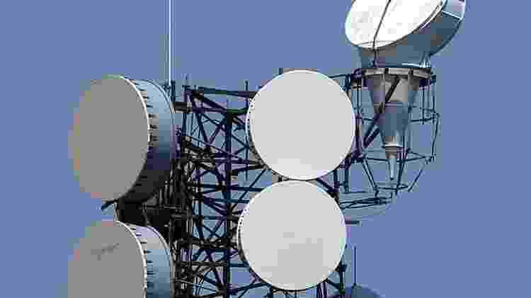 Comunicação por micro-ondas pode dar vantagens de segundos - Getty Images - Getty Images