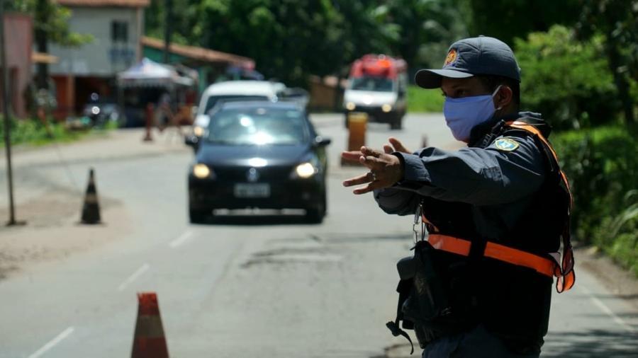 1º dia de lockdown em São Luís (MA) - Governo do Maranhão