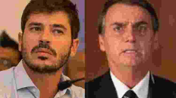 Deputado Junior Bozzella e presidente Jair Bolsonaro - Divulgação e reprodução de vídeo - Divulgação e reprodução de vídeo