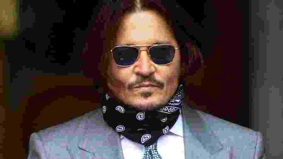 Ator Johnny Depp comparece a novo dia de julgamento na Suprema Corte de Londres - HANNAH MCKAY