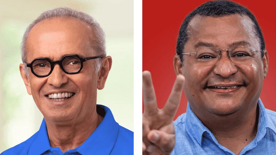 Cícero Lucena (PP) e Nilvan Ferreira (MDB) concorrem à Prefeitura de João Pessoa - Reprodução/Facebook/Arte-UOL