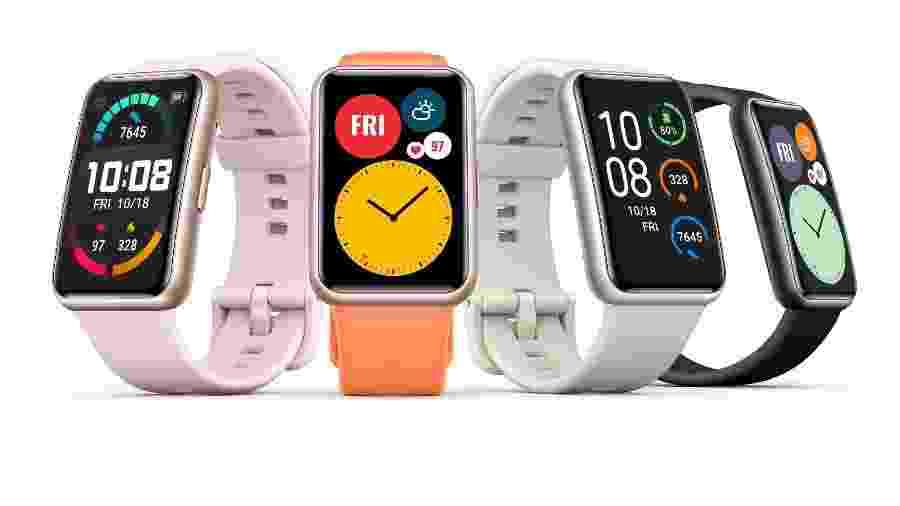 Relógio Huawei Watch Fit - Divulgação