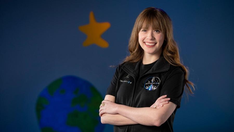 Hayley Arceneaux, de 29 anos, será a americana mais jovem a viajar ao espaço. Ela é assistente médica em um hospital especializado em câncer infantil - St. Jude Children?s Research Hospital