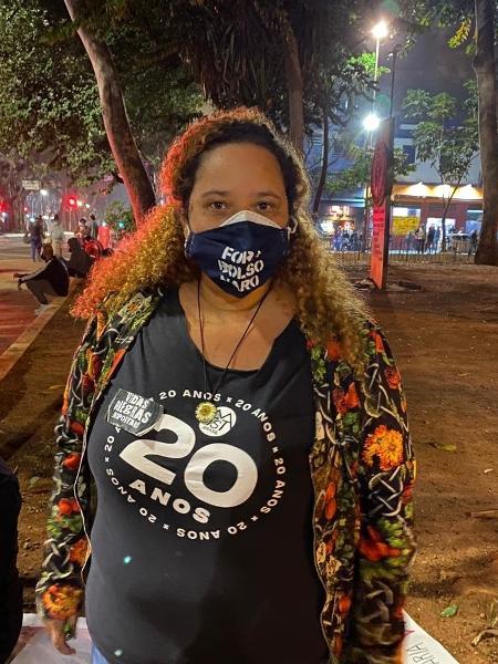 Simone Souza, que perdeu a mãe para a covid - Anahi Martinho/UOL