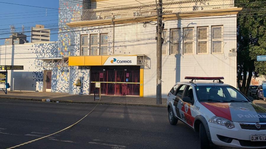 Ruas do centro ficam interditada após ataque a bancos em Araçatuba, interior de São Paulo - Riatoan Rodrigues