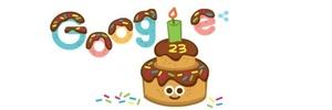 É hoje mesmo? Google faz 23 anos, mas já teve várias datas de aniversário (Foto: Reprodução)
