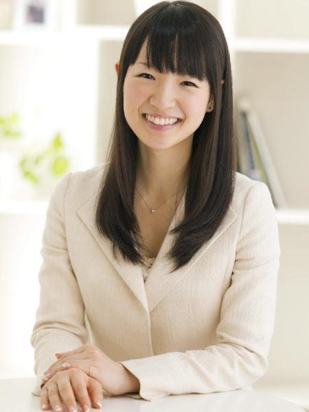 """A japonesa Marie Kondo, autora do livro """"A Arte da Arrumação"""" - Divulgação/Efe"""