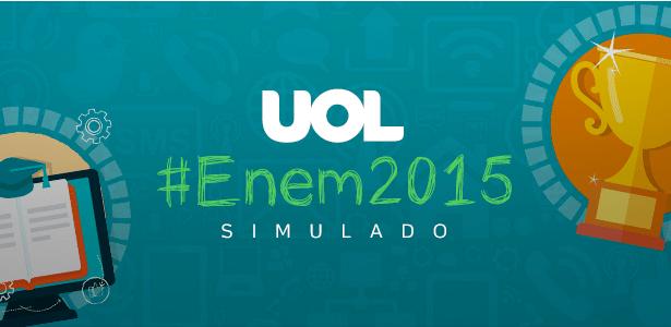 UOL e Sistema Ari de Sá lançam simulado online para o Enem - Arte/UOL