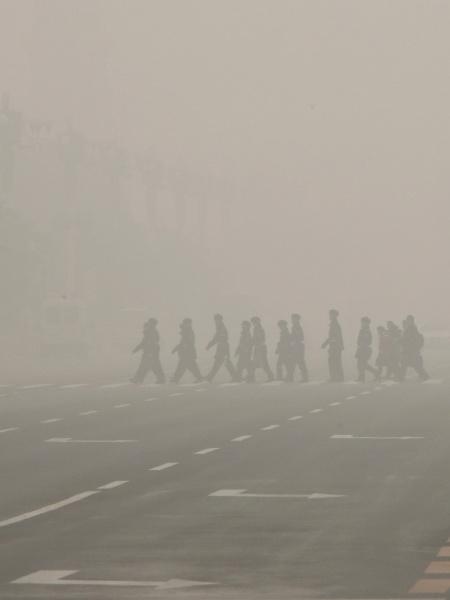 Poluição em Pequim, na China - Kim Kyung-Hoon/Reuters