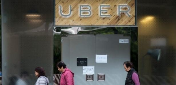 O Uber já tem quase um terço do total de viagens globais vindo da China