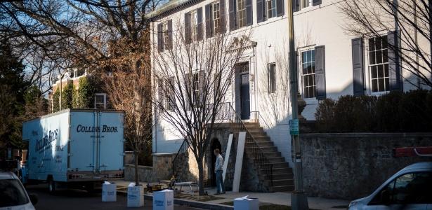 Ivanka Trump e seu marido, Jared Kushner, estão se mudando para esta casa no bairro de Kalorama, em Washington (EUA)