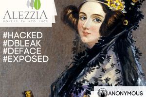Grupo Anonymous hackeia página da empresa Alezzia