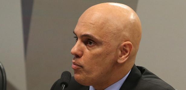 Alexandre de Moraes citou seu cargo de presidente da Febem, entre 2004 e 2005