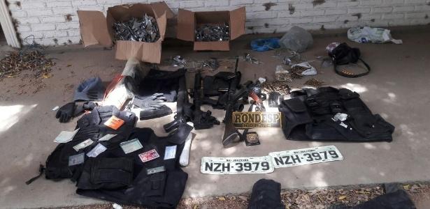 Polícia Militar fez apreensão em casa após confronto com suspeitos em Juazeiro (BA)