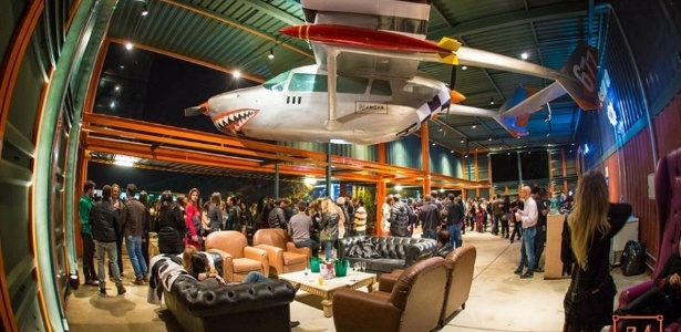 Interior da boate Hangar 677, em Belo Horizonte, que tem histórico de violência