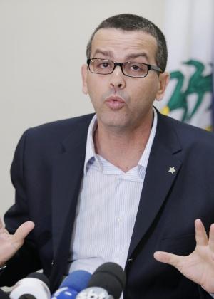 O chefe da Polícia Civil, Rivaldo Barbosa