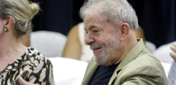 O ex-presidente Luiz Inácio Lula da Silva (PT)