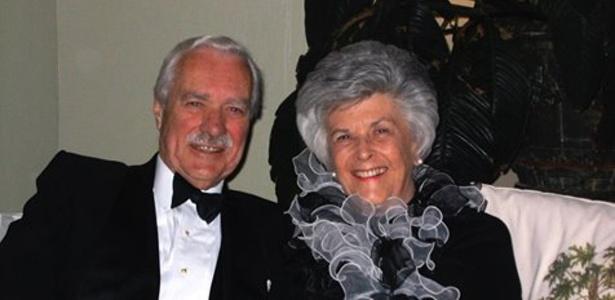 George e Shirley Brickenden foram casados por 72 anos