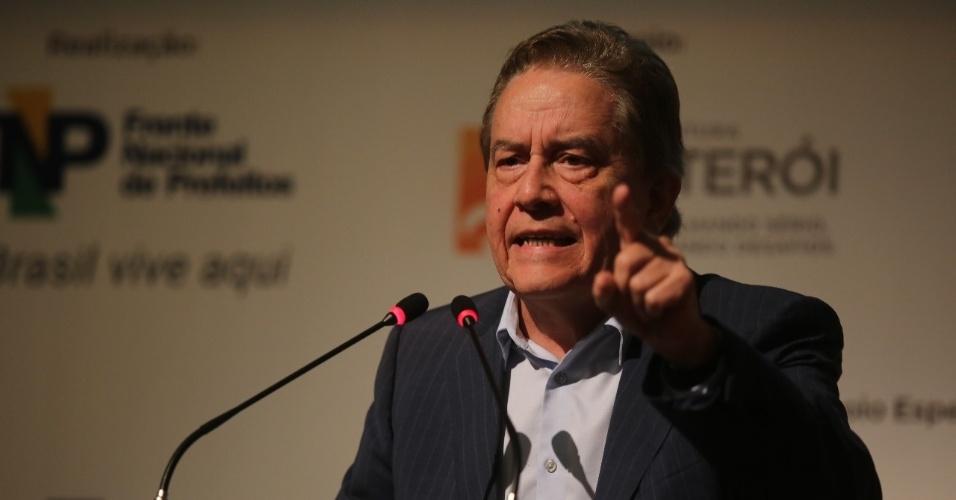 8.mai.2018 - Paulo Rebello, pré-candidato do PSC à Presidência