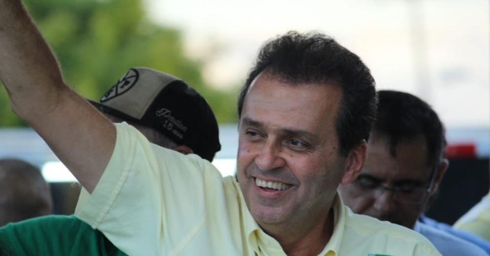 26.out.2018 - Carlos Eduardo visita Angicos e Currais Novos, no RN