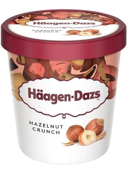 O pote do sabor Hazelnut Crunch, de 473 ml, estará à venda por R$ 1 - Divulgação