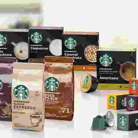 """Linha """"Starbucks At Home"""" possui 15 produtos - Divulgação"""