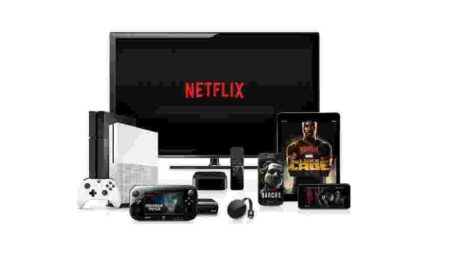 Milhões de pessoas assistem a filmes e séries no Netflix - Divulgação