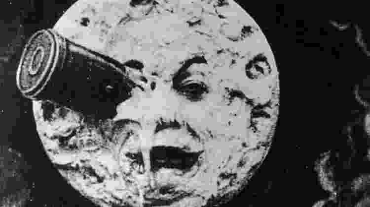 A viagem à Lua não foi como o diretor francês Georges Méliès imaginou em 1902, tampouco como o projeto Apollo pensava - Hulton Archive/Getty Images