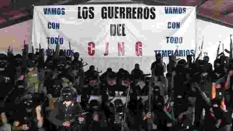 Membros do Cartel da Nova Geração de Jalisco são considerados os mais violentos do México - Reprodução