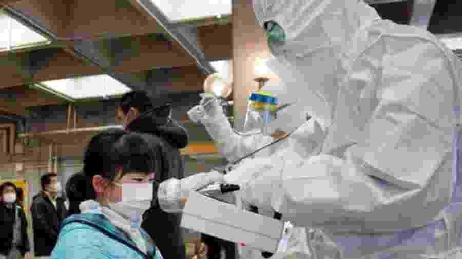 O desastre nuclear de Fukushima levou à evacuação de mais de 140.000 pessoas e à criação de uma área de exclusão de 20 km - GETTY IMAGES