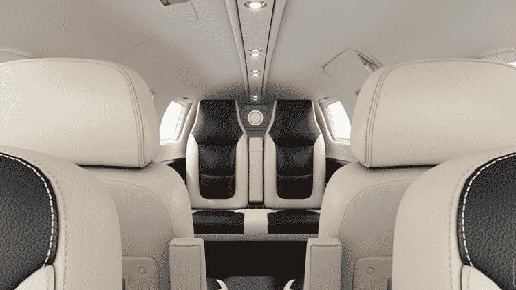 Piper M600 SLS tem capacidade para seis pessoas e preço-base de US$ 3 milhões - Divulgação  - piper m600 sls tem capacidade para seis pessoas e preco base de us 3 milhoes 1574382019632 v2 750x421 - Avião a hélice é simples por fora, mas tem luxo de jato por até R$ 32 mi